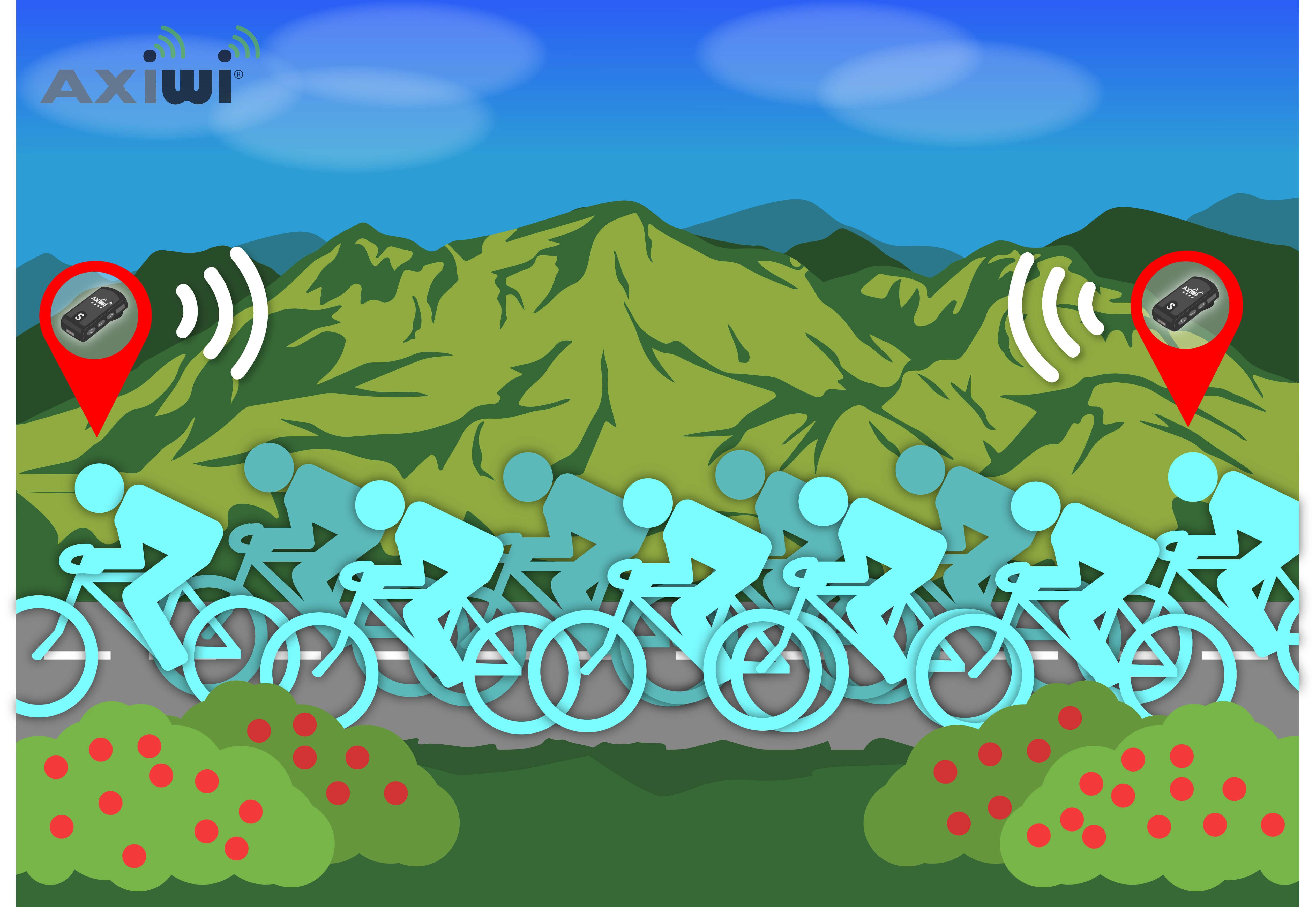 axiwi-communicatie-systeem-fietsen-groep