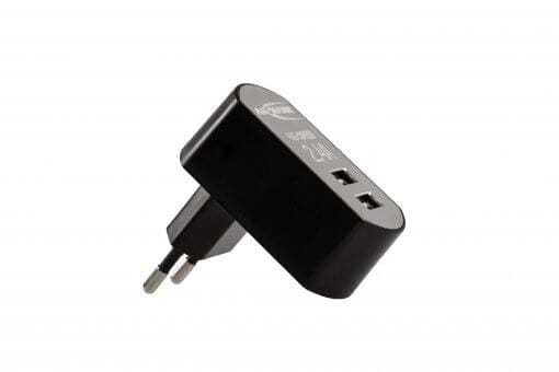 The AXIWI CR-008 USB dual charger is an 2 port USB charger to charge 2 AXIWI units simultaneously.