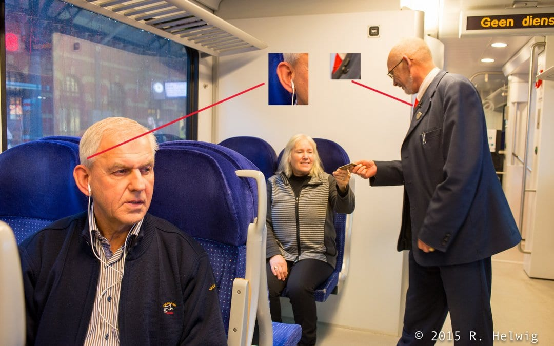 Coaching on the job with AXIWI in public transport