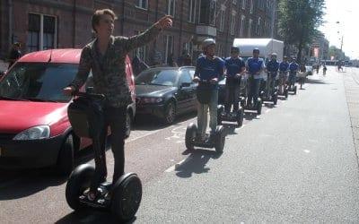Segway City Tours Amsterdam gebruikt AXIWI voor gastvrije en veilige city tour