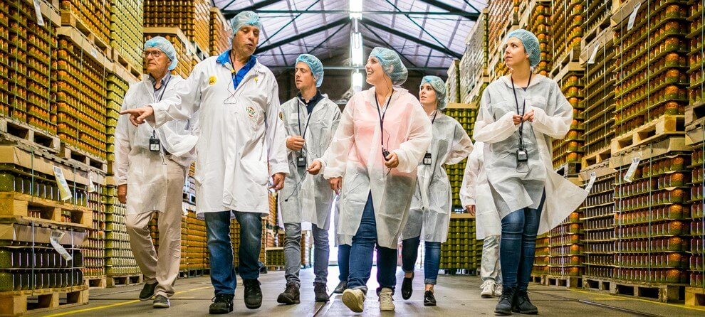 Axitour provides Dutch vegetable preserves manufacturer HAK flexibility and efficiency in guided tours