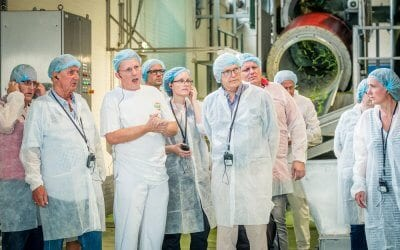 Axitour offers HAK flexibility and efficiency with headsets for factory tours